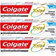 Colgate TOTAL ADVANCED Professional Clean Toothpaste, 120 Milliliters, 3 Count