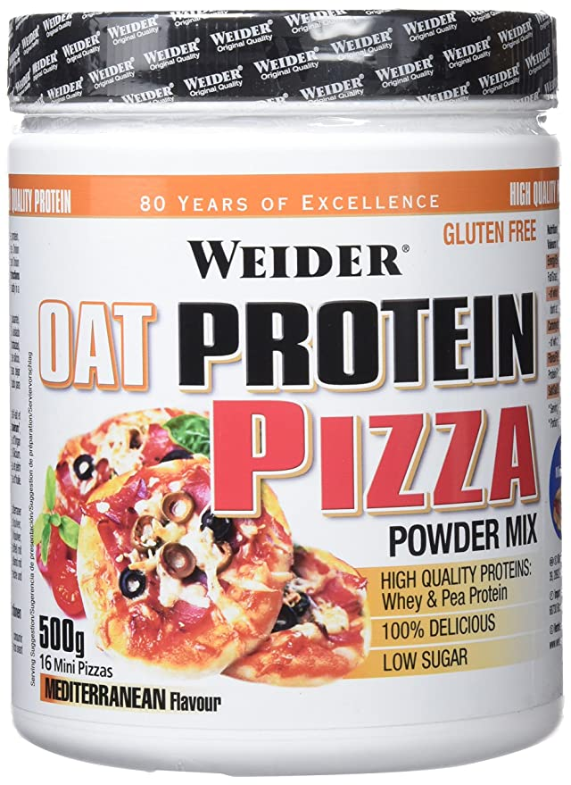 WEIDER Oat flour Pizza SIN GLUTEN 500 g: Amazon.es: Salud y cuidado personal