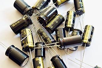 pack of 2 Capacitor 4700µf 16v 31x16mm rm7.5 105 ° low esr panasonic