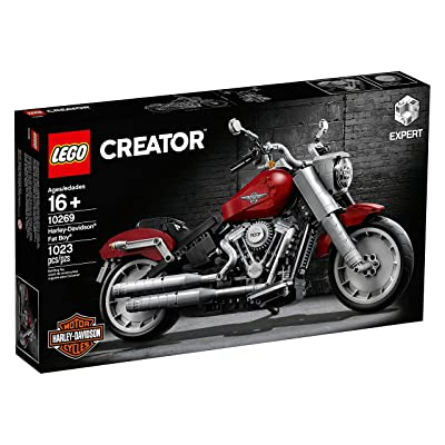 LEGO Creator Harley-Davidson Fat Boy 10269 (1023 Pieces): Toys & Games