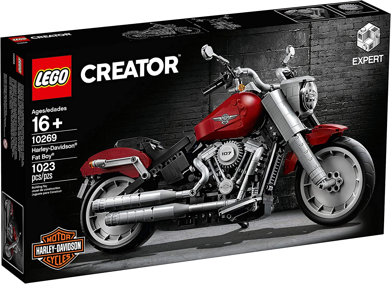 Top 7 Best LEGO Motorcycle Sets Reviews in 2020 3