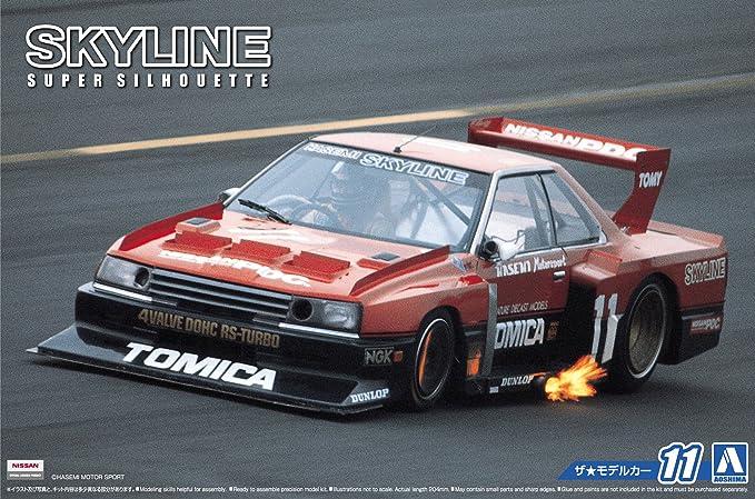 1/24 the cars Nissan KDR30 skyline Super silhouette 82 model car: Amazon.es: Juguetes y juegos