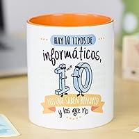 La mente es Maravillosa - Tazas para informáticos