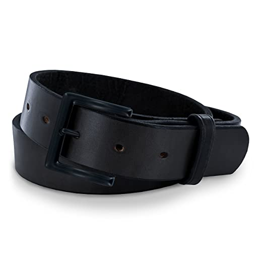 Hanks Grande Big & Tall Belt - 100 Year Warranty - USA MADE - Black - 46