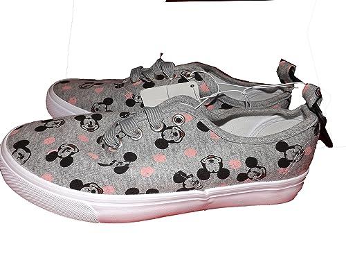 Primark - Zapatillas de Lona para Mujer Gris Gris 38 EU, Color Gris, Talla 37 1/3: Amazon.es: Zapatos y complementos