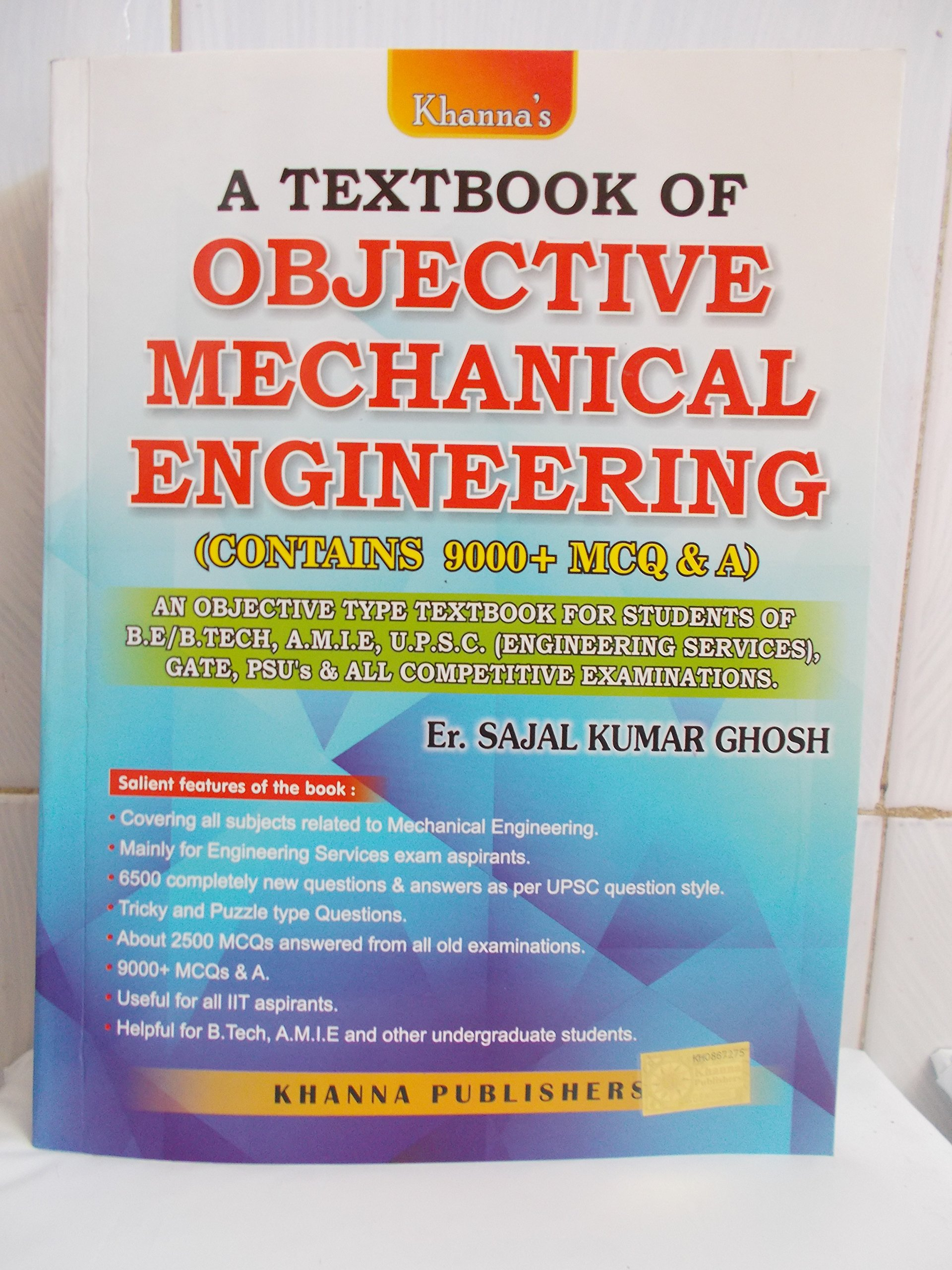 Mechanical Objective Book