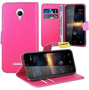 Vodafone Smart 4 Turbo Funda, FoneExpert® Wallet Flip Billetera Carcasa Caso Cover Case Funda de Cuero Para Vodafone Smart 4 Turbo (Rosado): Amazon.es: ...