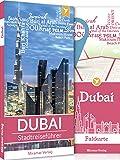 Reiseführer Dubai - Der Stadtreiseführer | Mit mehr als 50 Sehenswürdigkeiten, Faltkarte & Metroplan | Miramar Verlag