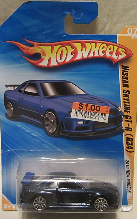 Amazon Com 2010 Hot Wheels New Models 07 44 Metallic Blue Nissan