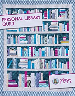 Crimson Tate Personal Library Quilt Pattern