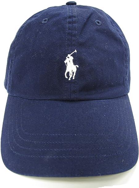 Ralph Lauren - Gorra de béisbol - Básico - para Hombre Azul Azul Marino: Amazon.es: Ropa y accesorios