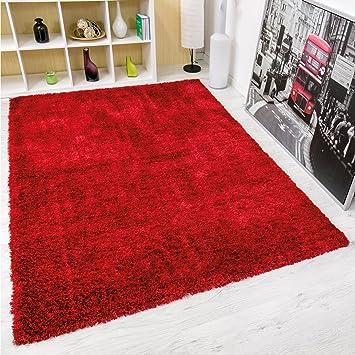 Vimoda Moderner Hochflor Maxi Shaggy Teppich Polyester Mit Glitzer
