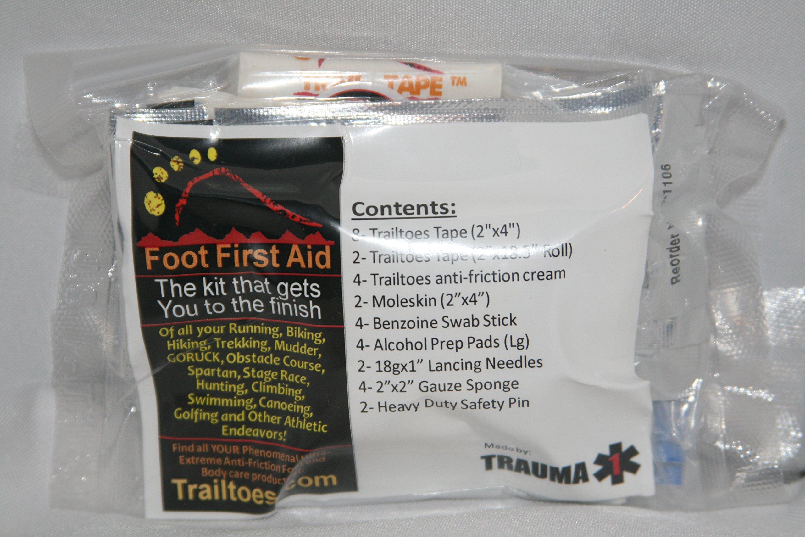 Feet First Aid Blister Kit