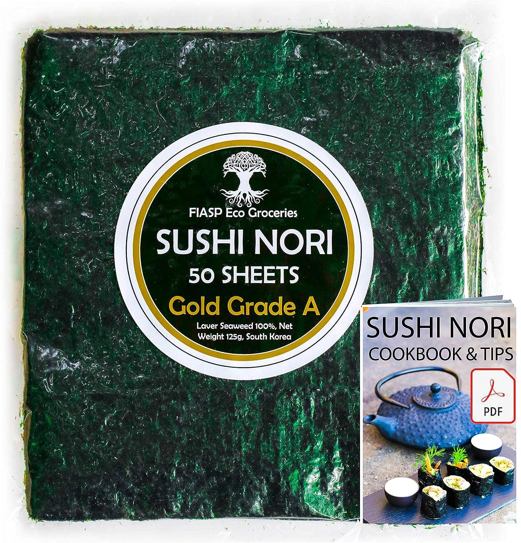 Nori Algenblätter für Sushi