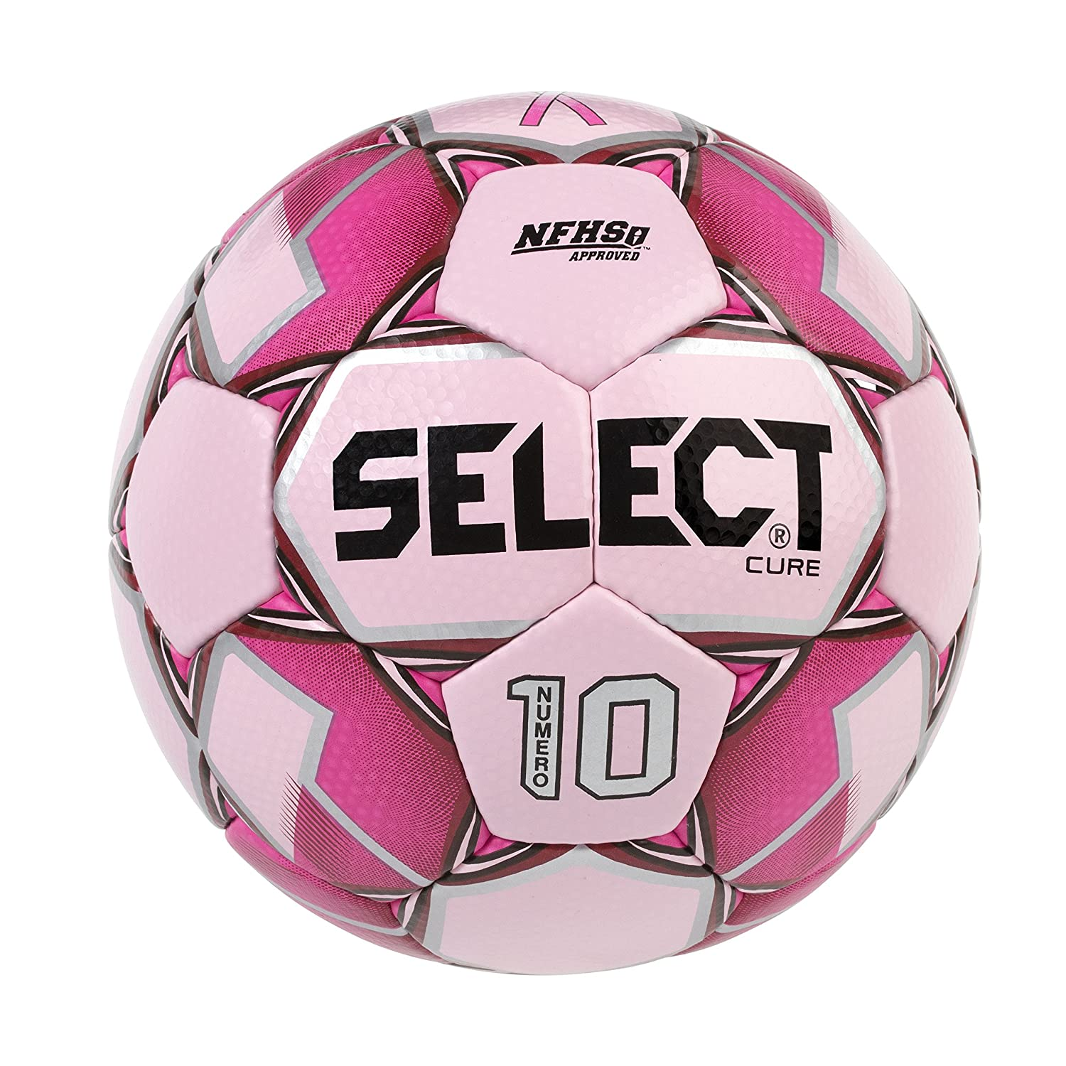 Select Numero 10 - Balón de fútbol, Color The Cure/Pink, tamaño 4 ...