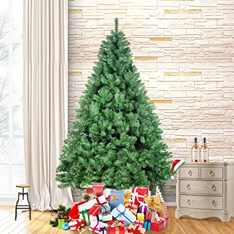 Image Unavailable - Amazon.com: Ztotop 7.5 Foot Premium Spruce Hinged Artificial
