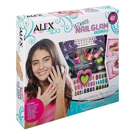 5aa7dfa6e Amazon.com: ALEX Spa Ultimate Nail Glam Salon Kit: Toys & Games