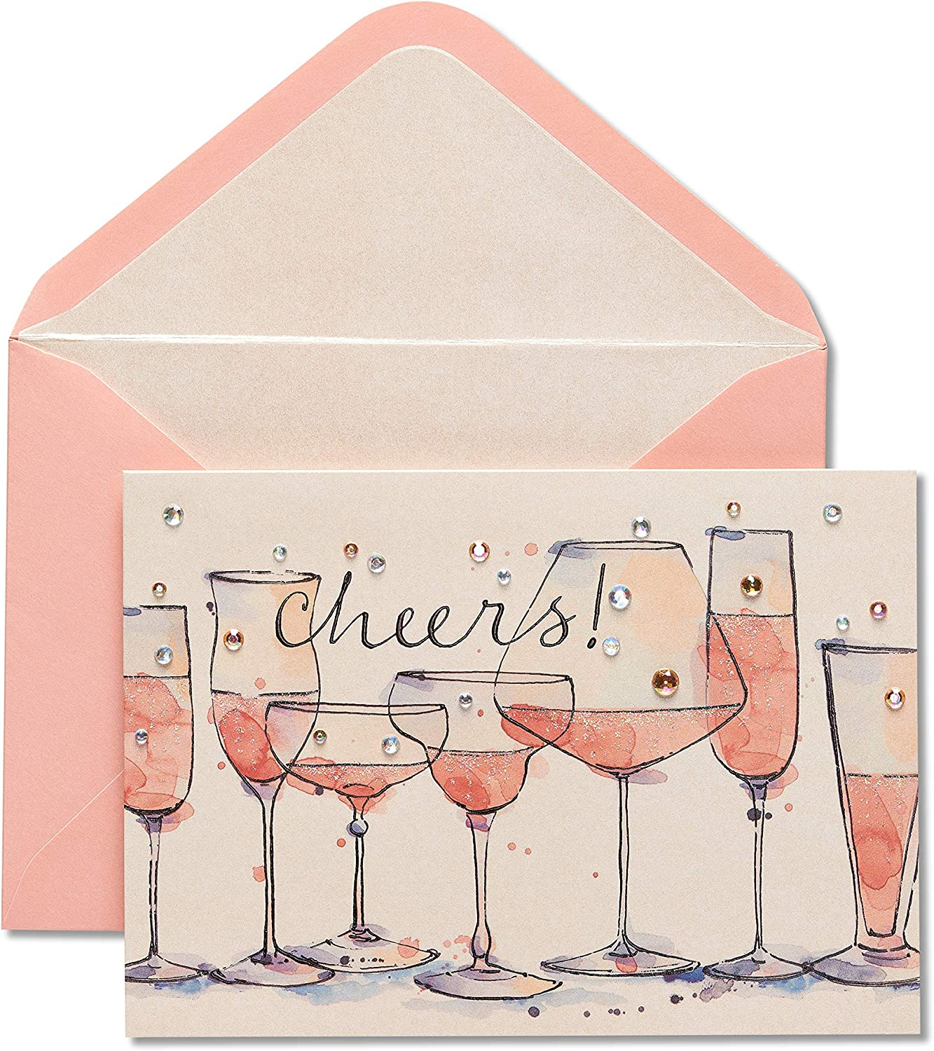 PAPYRUS  Anniversary champagne with gems
