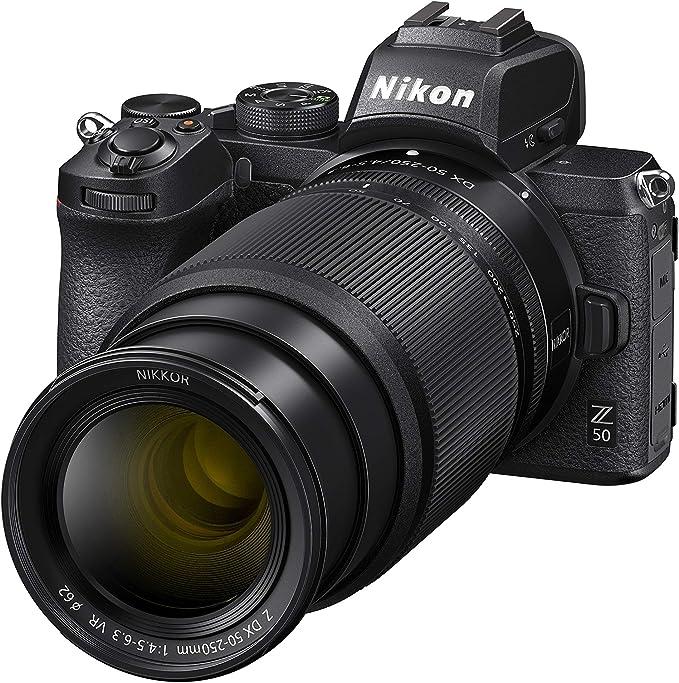 Nikon Z 50 Spiegellose Kamera Im Dx Format Mit 16 50mm Kamera
