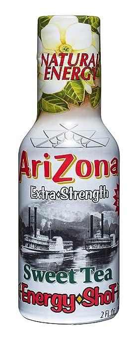 Amazoncom Arizona Extra Strength Energy Shot Sweet Tea 2oz