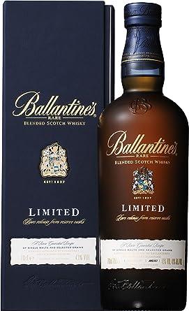 Whisky Ballantines Limited GB 43º (1x0.7L): Amazon.es ...