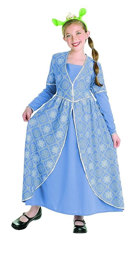 Amazon.com: Shrek The Third Princess Fiona Dress Girls Costume ...