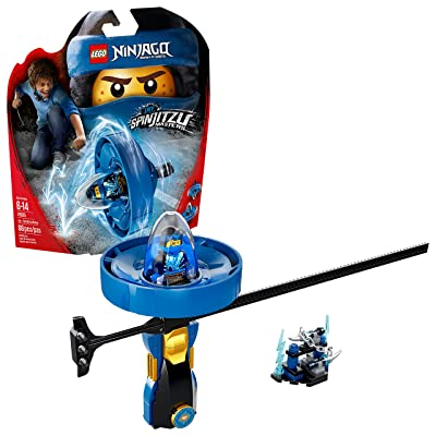 LEGO NINJAGO Jay – Spinjitzu Master 70635 Building Kit (68 Piece): Toys & Games