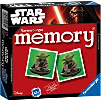 Ravensburger 21239 Star Wars-Mini Memory Kids Age 3 Years and Up-A Classic Picture Snap Matching Pairs Game