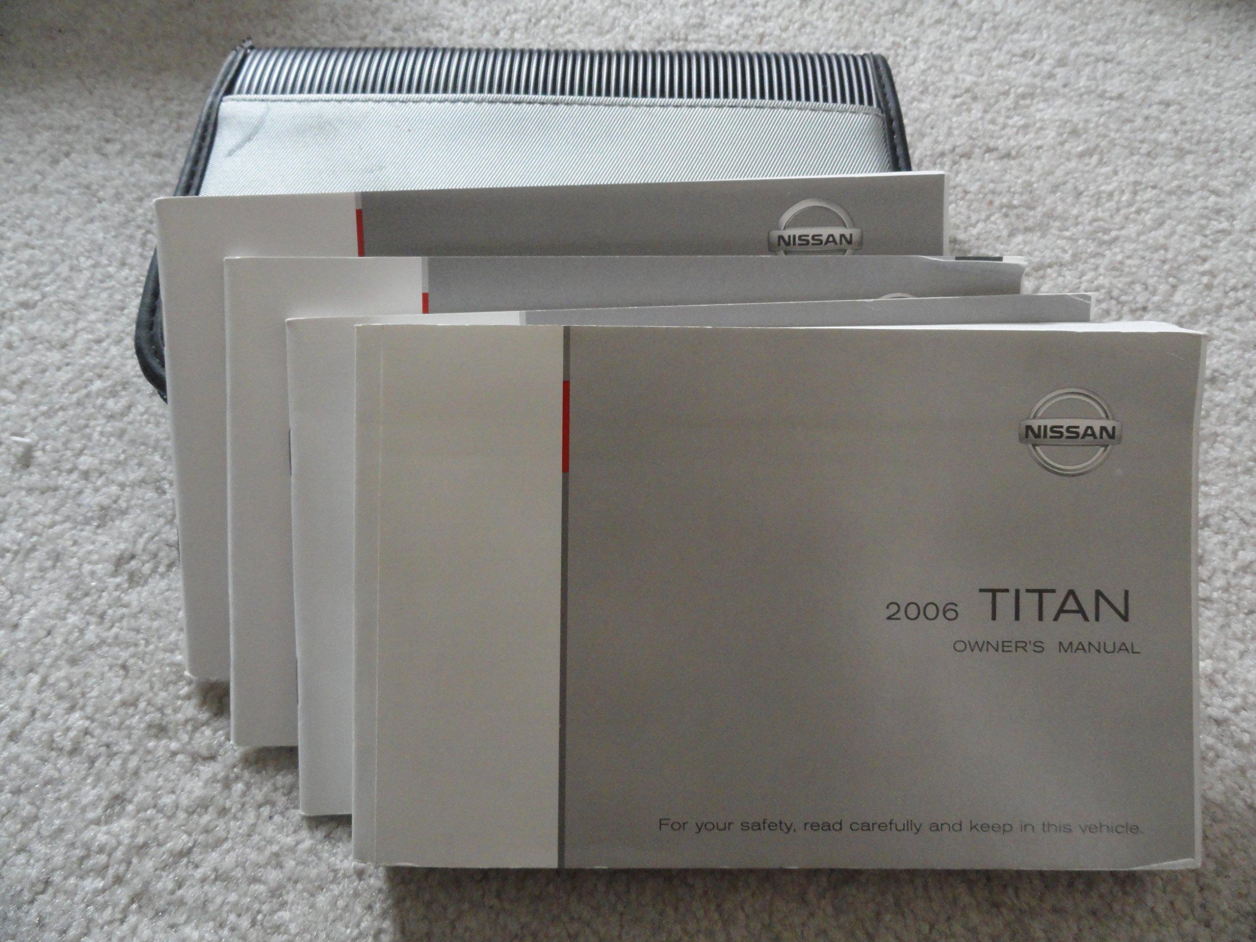 2006 nissan titan owners manual nissan amazon com books rh amazon com 06 nissan titan owner's manual 2006 nissan titan repair manual pdf
