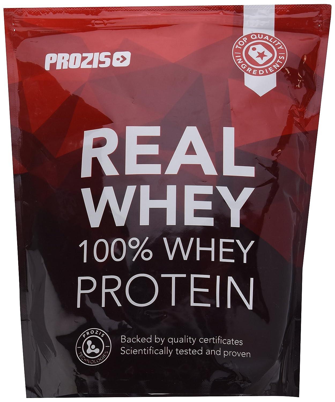 Prozis 100% Pure Real Whey Protein Powder- Suplemento de Fresa Enriquecido con BCAAs para un Máximo Crecimiento Muscular y Recuperación - 1kg: Amazon.es: ...