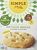Simple Mills Artisan Bread Mix, 9.5 Ounce Box, 3 Count