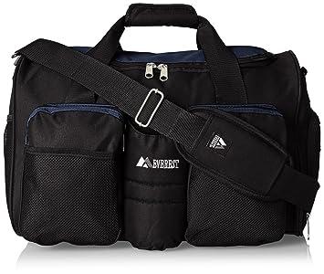 Amazon.com: Everest Gimnasio bolsa con bolsillo para ropa ...