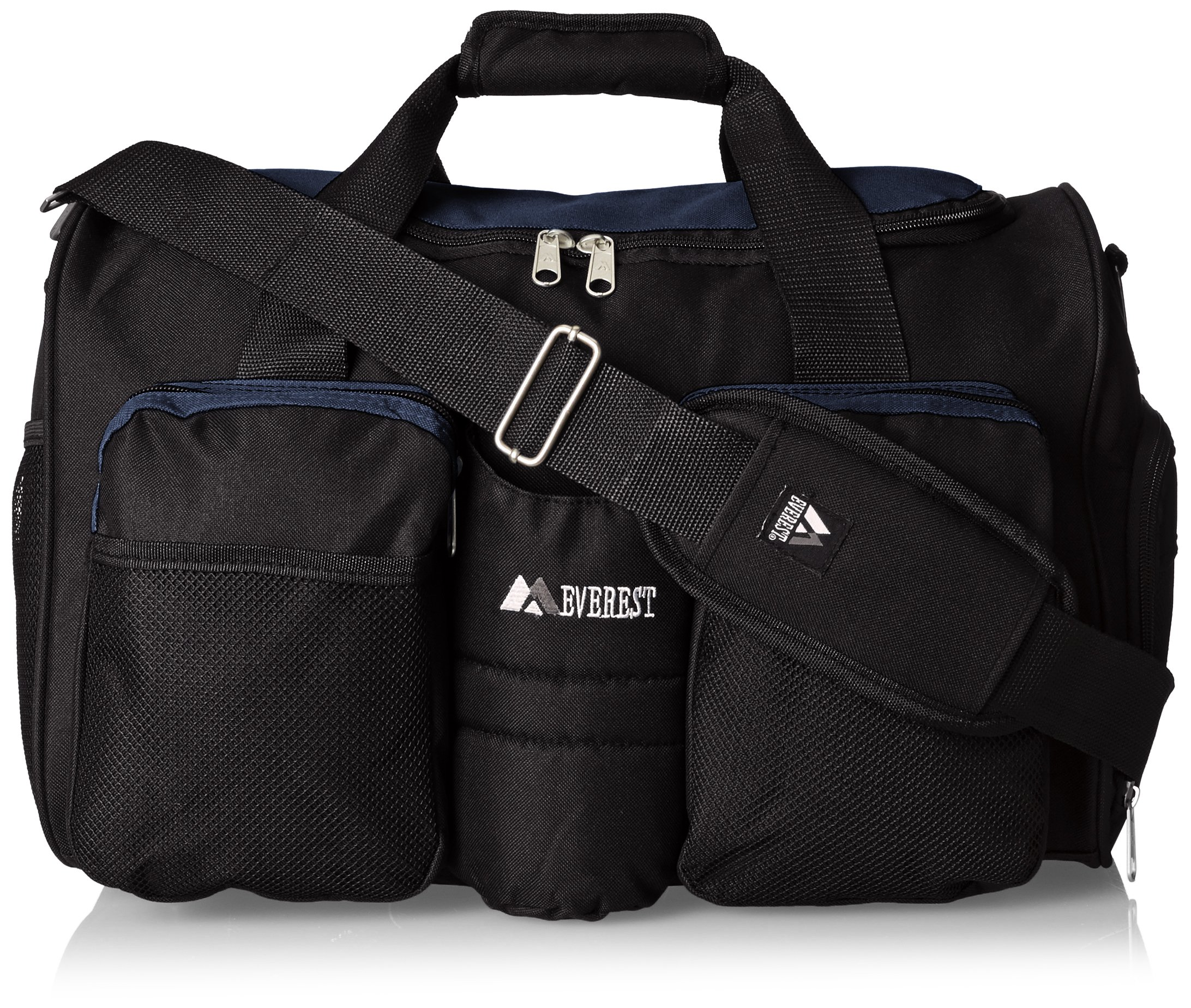 Everest Gym Bag with Wet Pocket, Navy, One Size