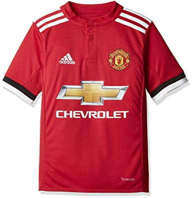 4888119960a adidas Boys  Manchester United Home Jersey  Amazon.co.uk  Sports   Outdoors