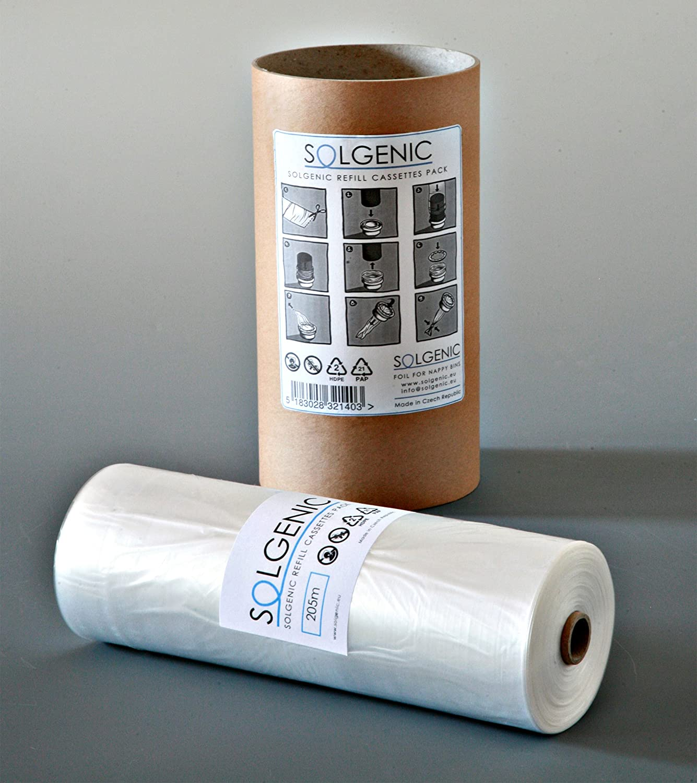 200m von solgenic Folie für Windel Entsorgung Mülleimer–Sangenic & Angelcare und Litter Locker Solgenic.eu 200m