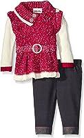 Little Lass Baby Girls' 2 Piece Sweater Set Confetti