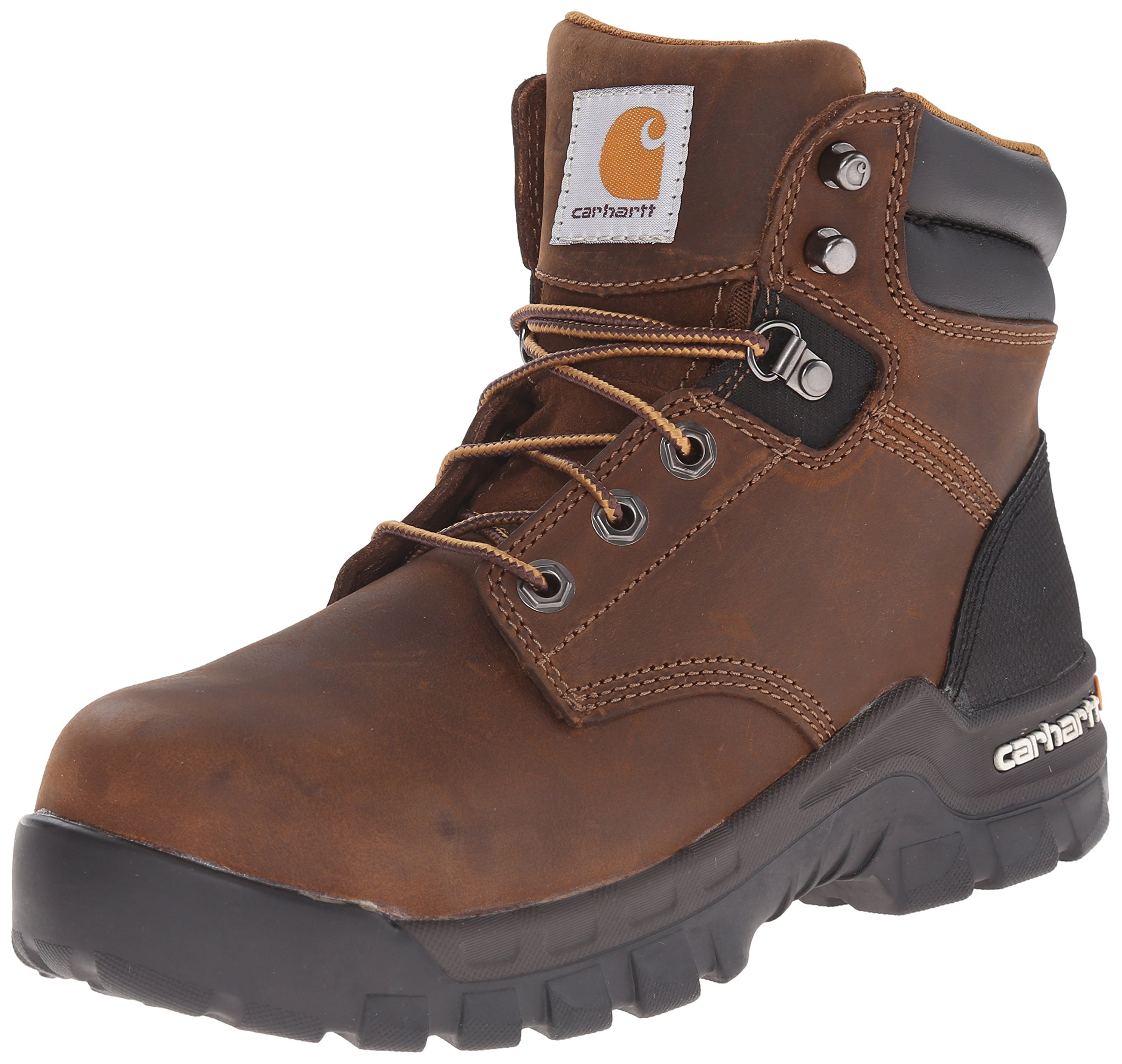 Carhartt Women's Rugged Flex 6 inch Comp Toe CWF5355-W, Brown, 8.5 M US