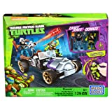 Mattel Mega Bloks DMX52 - Teenage Mutant Ninja Turtles Donnies Racer