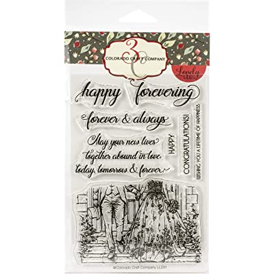 COLORADO CRAFT COMPANY LL231 Colorado Clear Stamp, Happy Forevering-Lovely Legs: Arts, Crafts & Sewing