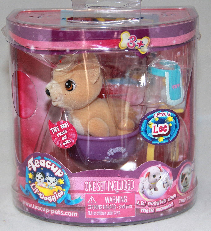 Teacup Lil Doggies Lee Toy Teck