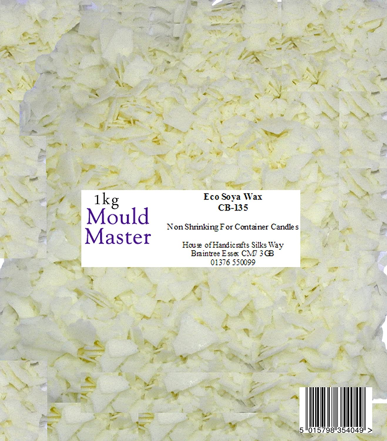 Moldmaster - Cera di soia naturale, 1 kg, colore bianco House Of Handicrafts 35404