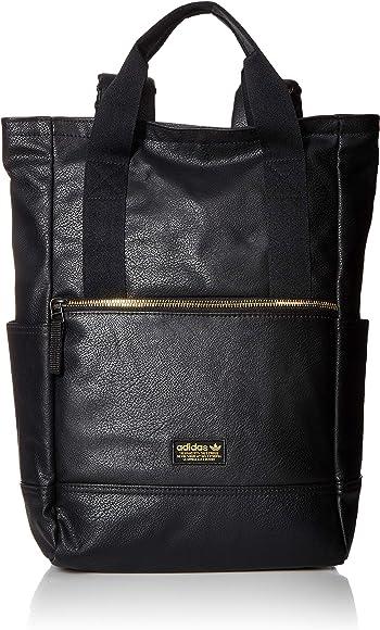 c11fa95d8590 Originals Premium Tote Backpack, Black/Gold Lurex, One Size