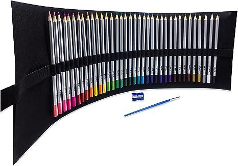 OOKU Artist Pro Watercolor Pencils – 39pc set