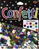 Beistle CN137 Pretty Polka Dots Confetti, 1/2-Ounce