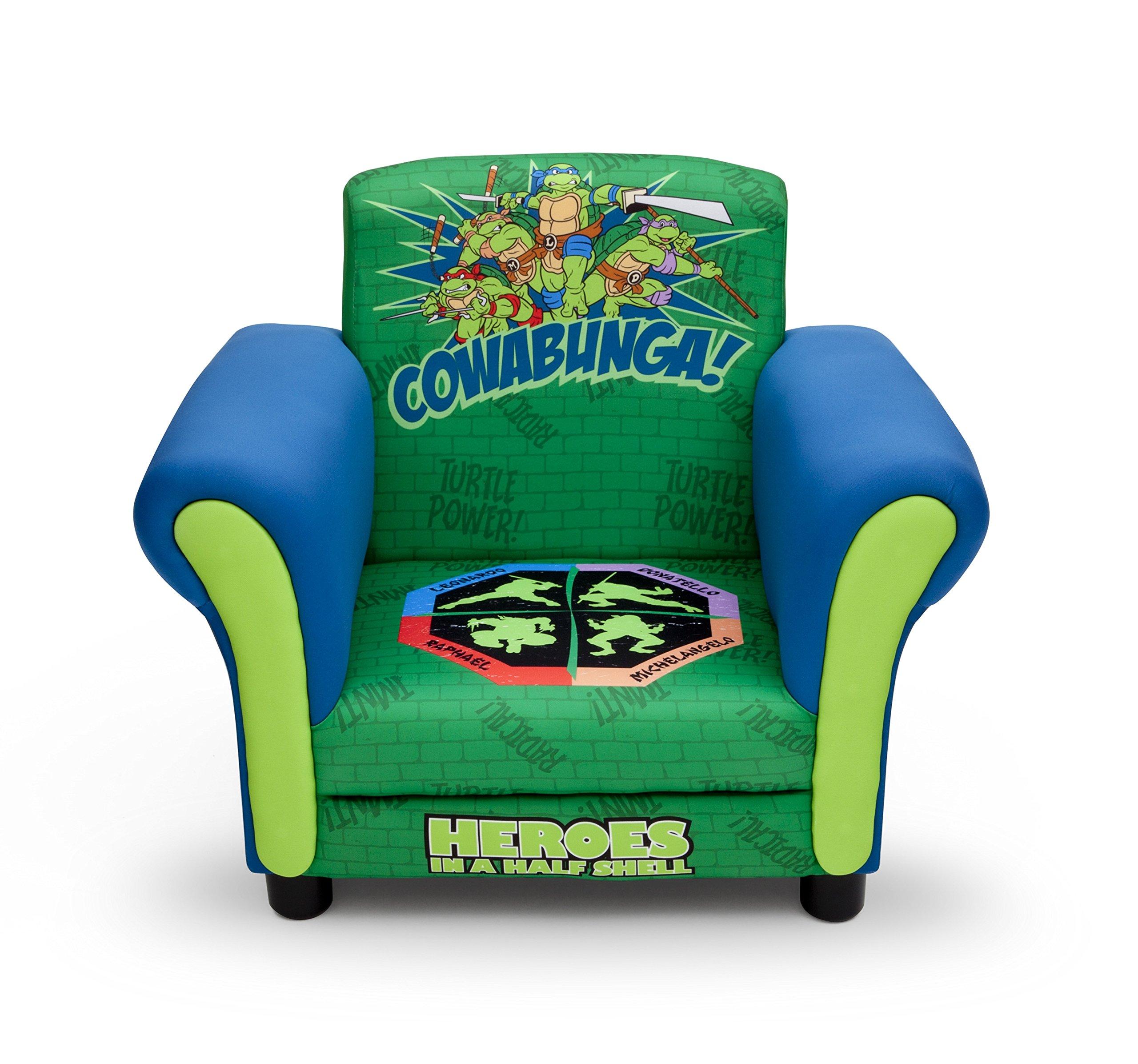 Delta Children Upholstered Chair, Nickelodeon Ninja Turtles