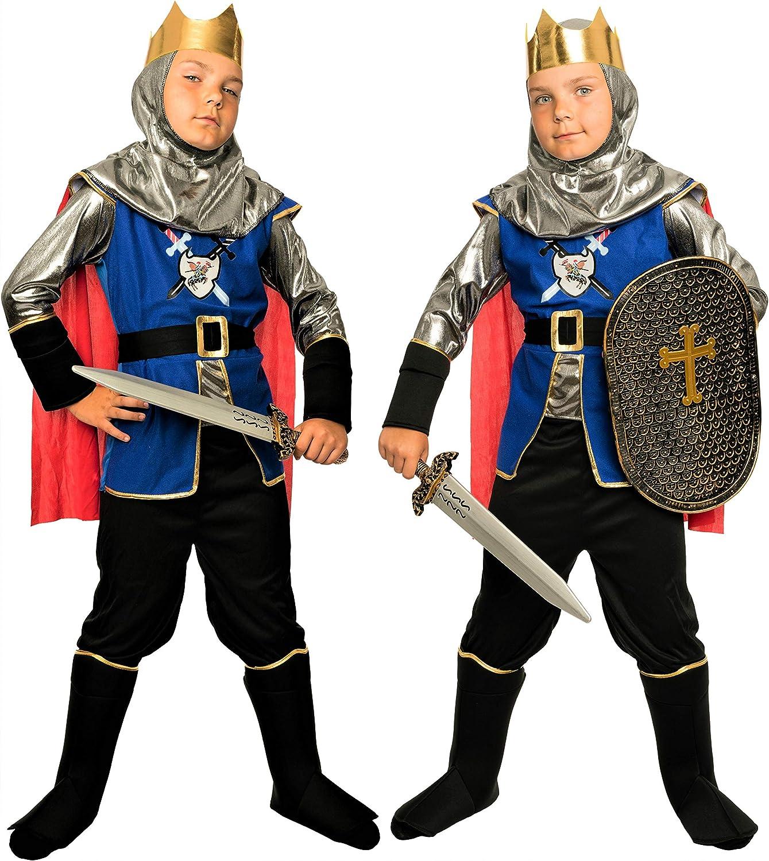 Magi Coo königliches Ritter Disfraz Infantil niño Disfraz Medieval ...
