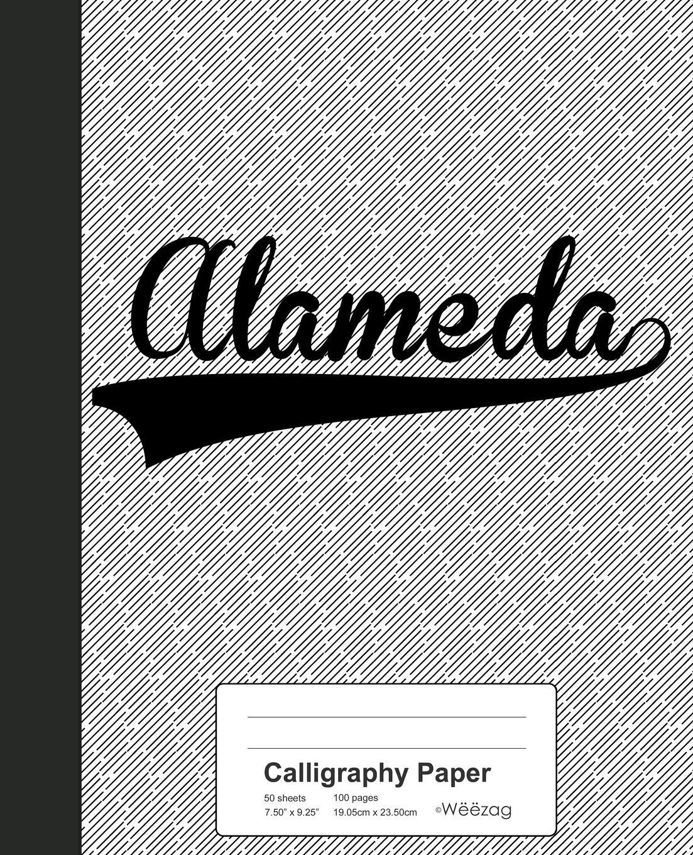 Buy Calligraphy Paper ALAMEDA Notebook Weezag Calligraphy