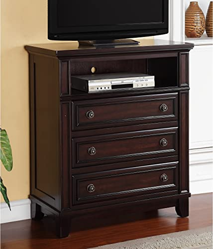 Picket House Furnishings Harland Media Chest in Espresso