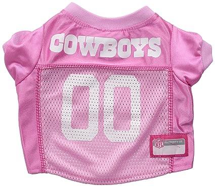 Amazon.com   NFL DALLAS COWBOYS DOG Jersey Pink 6a4047e62