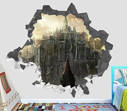 Amazon.com: Dark Souls Video Games 3D Wall Decal Sticker Vinyl Decor ...